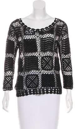 Joie Scoop Neck Knit Sweater