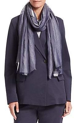Fabiana Filippi Women's Silk-Blend Striped Scarf