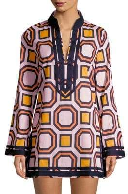 Tory Burch Tory Printed Cotton Tunic