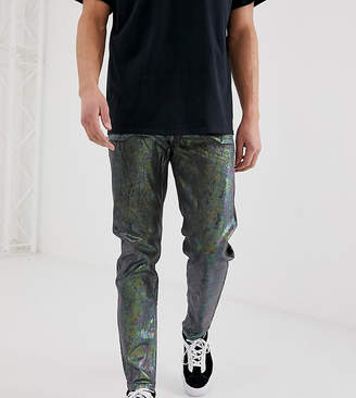 Reclaimed Vintage the '89 original fit jeans in silver
