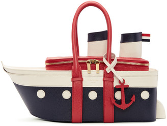 Thom Browne Tricolour Cruise Liner Bag $2,490 thestylecure.com
