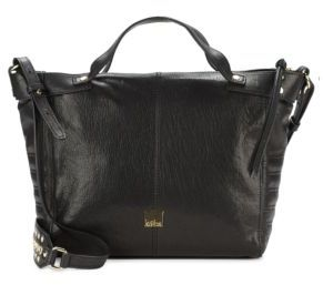 Liv Leather Satchel $448 thestylecure.com