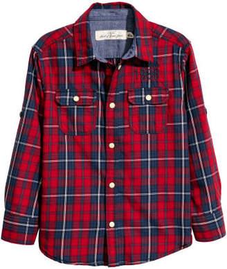 H&M Cotton Shirt - Red