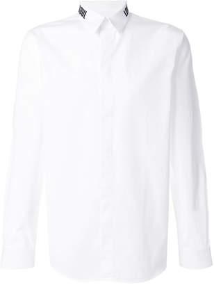 Givenchy Soul Love collar shirt