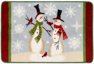 Avanti Tall Snowmen Rug
