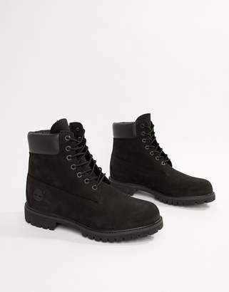 Timberland classic 6 inch premium boots in black