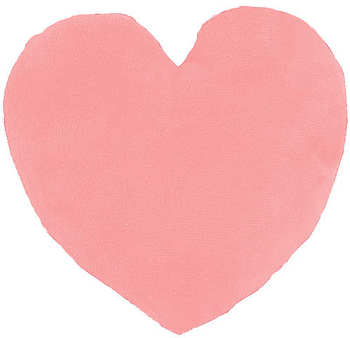 Light Pink Emoji Heart Pillow
