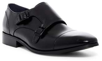 Kenneth Cole Reaction Cap Toe Double Monk Strap Loafer