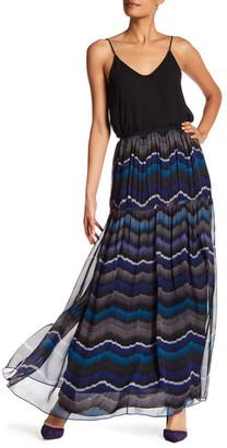 Diane von Furstenberg Isadorra Silk Maxi Skirt $368 thestylecure.com