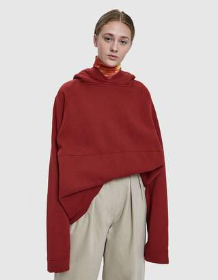 Katharine Hamnett Rick Oversize Sweatshirt in Blood