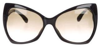 Tom Ford Nico Oversize Sunglasses