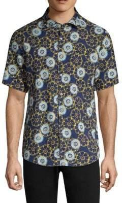Vilebrequin Clyde Floral Print Shirt