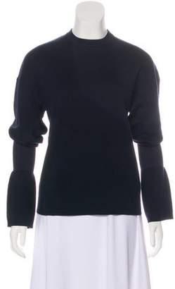 Tibi Wool Crew Neck Sweater