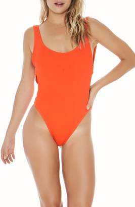 L-Space L Space Mayra Ribbed One-Piece Swimsuit
