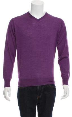 Peter Millar Silk-Blend V-Neck Sweater