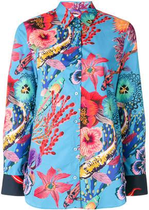 Paul Smith Ocean print shirt