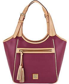 Dooney & Bourke Saffiano Leather Shoulder Bag-Maddie