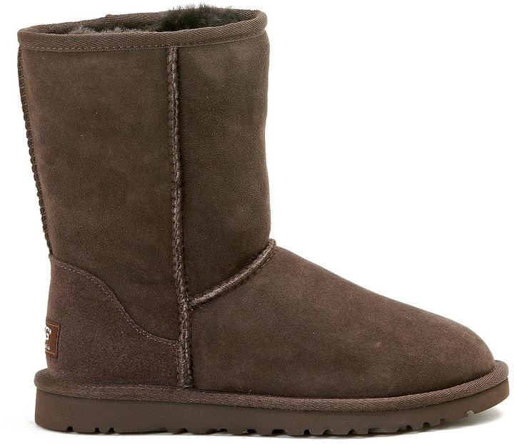 UGG Ugg Classic Short Chocolate Ankle Boots