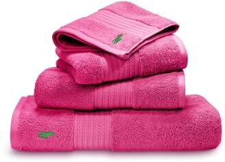 Ralph Lauren Home Player pink guest towel