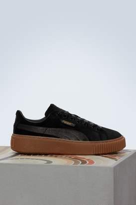Puma Velvet platform sneakers