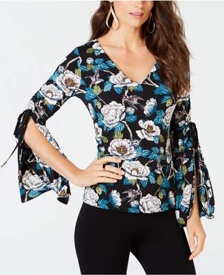 Thalia Sodi Split-Sleeve Top, Created for Macy's