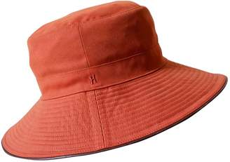 Hermes Orange Polyester Hats