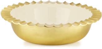 "Marigold Artisans Fluted 14.5"" Bowl"