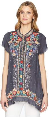 Johnny Was Mikones Tunic Women's Blouse