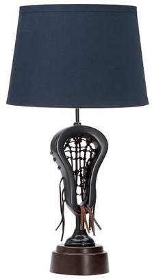Pottery Barn Teen Navy Shade with Lacrosse Base
