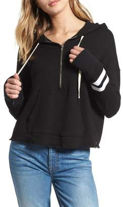 Blend of America n:PHILANTHROPY Hickory Half Zip Cotton Hoodie