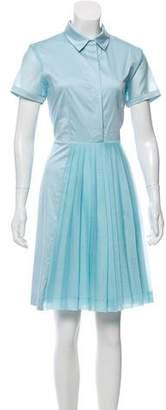 Sonia Rykiel Sonia by Short Sleeve Knee-Length Dress