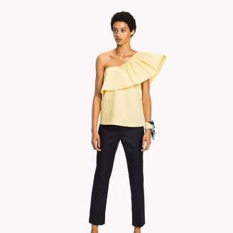 Tommy Hilfiger Cascading Ruffle Top