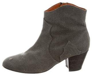 Isabel Marant Round-Toe Ankle Boots