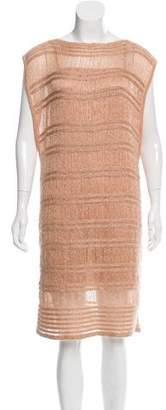 Missoni Open Knit Metallic Dress