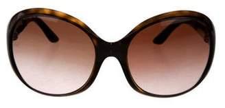 Prada Oversize Fold-Over Sunglasses