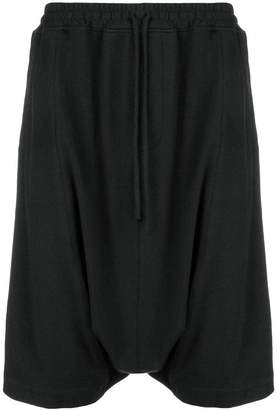 Unconditional cropped harem trousers