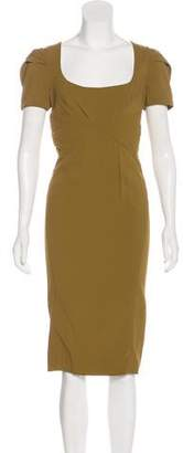 Zac Posen Bodycon Midi Dress