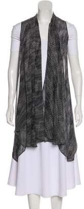 Ramy Brook Chiffon Printed Vest