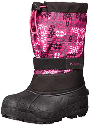 Columbia Youth Powderbug Plus Print Winter Boot (Little Kid/Big Kid)