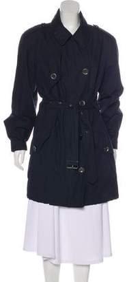 Burberry Belted Knee-Length Coat