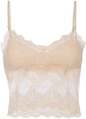Only Hearts So Fine Lace Crop Cami