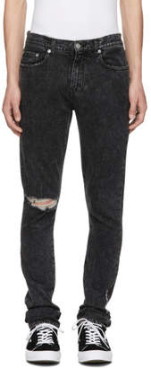 Roxy Adaptation Black Ripped Slim Jeans