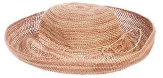 Helen Kaminski Stripe Raffia Hat