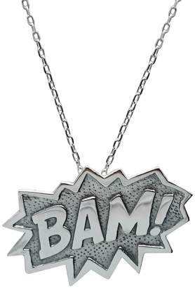 Edge Only - Bam Pendant Extra Large in Silver