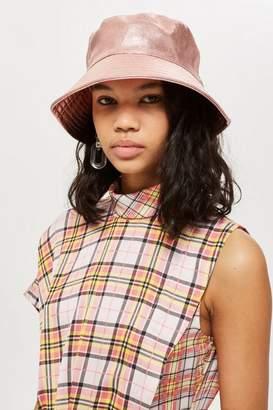 Topshop MeTallic Bucket Hat