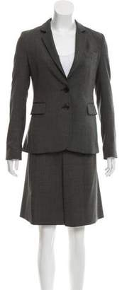 Joseph Tailored Wool Skirt Suit