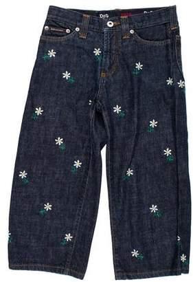 Dolce & Gabbana Denim Knee-Length Shorts