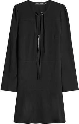 Proenza Schouler Crepe Dress with Self-Tie Neck