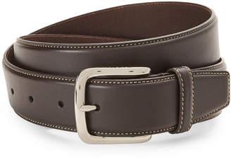 Cole Haan Contrast Stitch Leather Belt