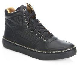 Diesel Spaark High-Top Sneakers $190 thestylecure.com